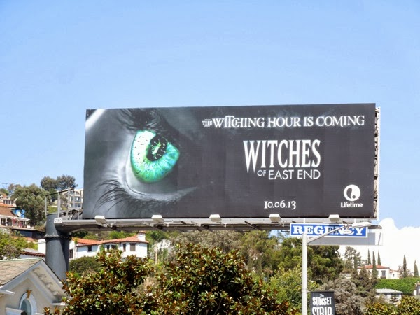 Witches of East End lifetime teaser billboard