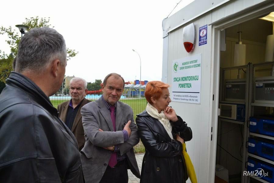 stacja automatycznego monitoringu powietrza Mielec WIOS czesciowo dziala brakuje jednak kilku urzadzen
