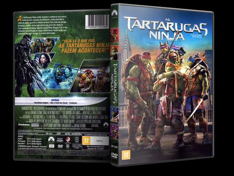 Capa DVD As Tartarugas Ninja