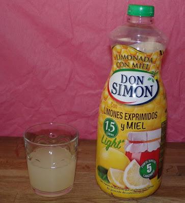 Limonada con miel de Don Simón