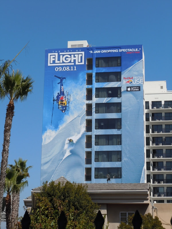 Art of Flight movie billboard