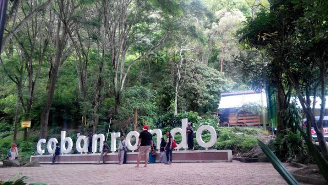 Lokasi Air Terjun Coban Rondo