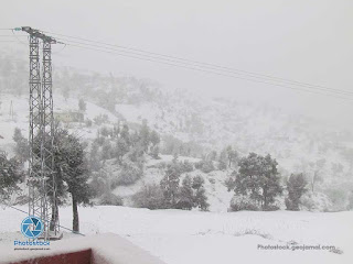 Snow in Ketama Morocco picture and videos