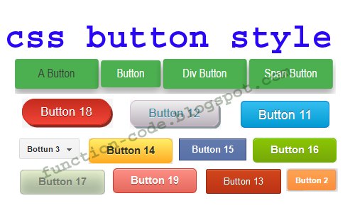 css button style