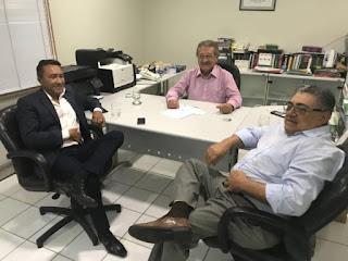 Samuka se reúne com Maranhão e tesoureiro do MDB e filia ao partido