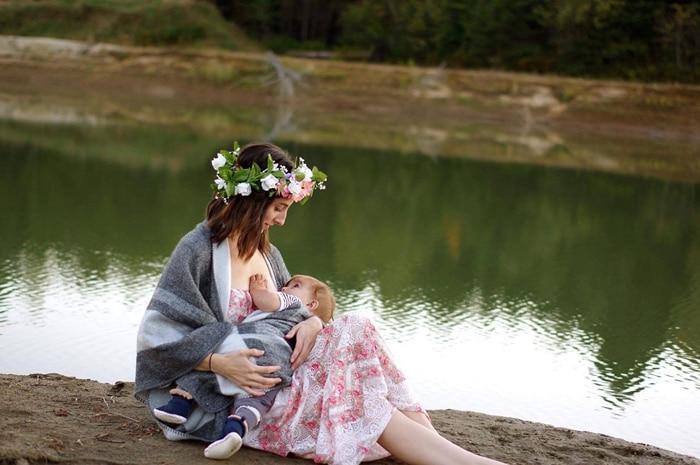 amamentação de bebê