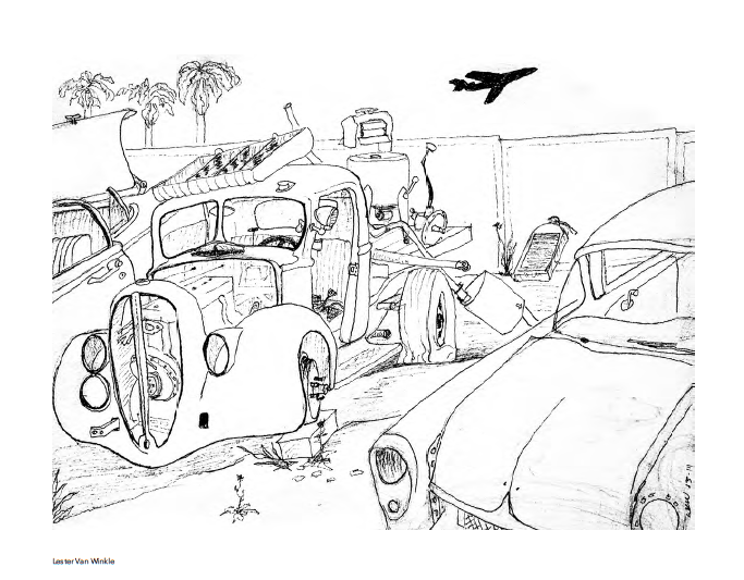 Artists Coloring Book : 30 Lester Van Winkle