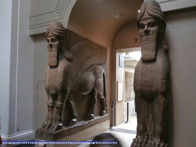 Estatuas persas en el British Museum