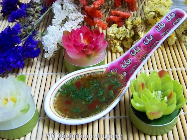 salsa thai aliño pescados y mariscos
