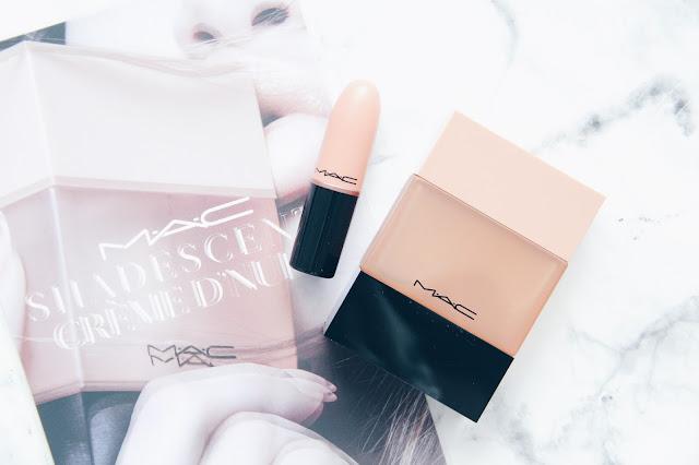 M.A.C - Creme d'nude : le rouge à lèvres & le parfum