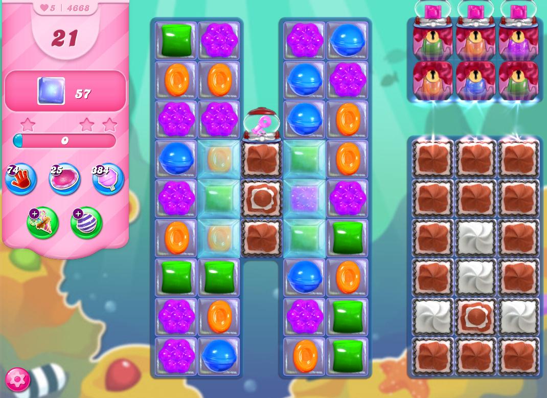 Candy Crush Saga level 4668