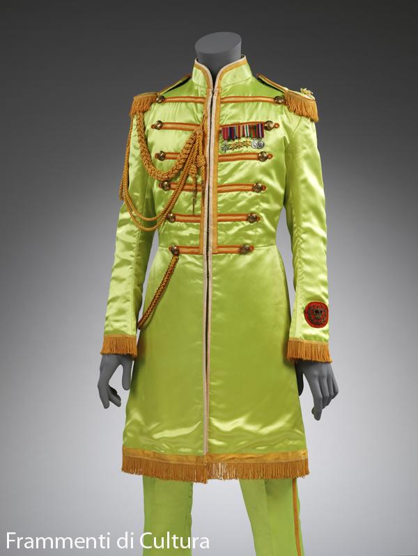 Sgt Pepper l'abito di Sgt Pepper