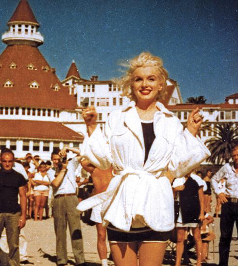 marilyn monroe hotel del coronado san diego california