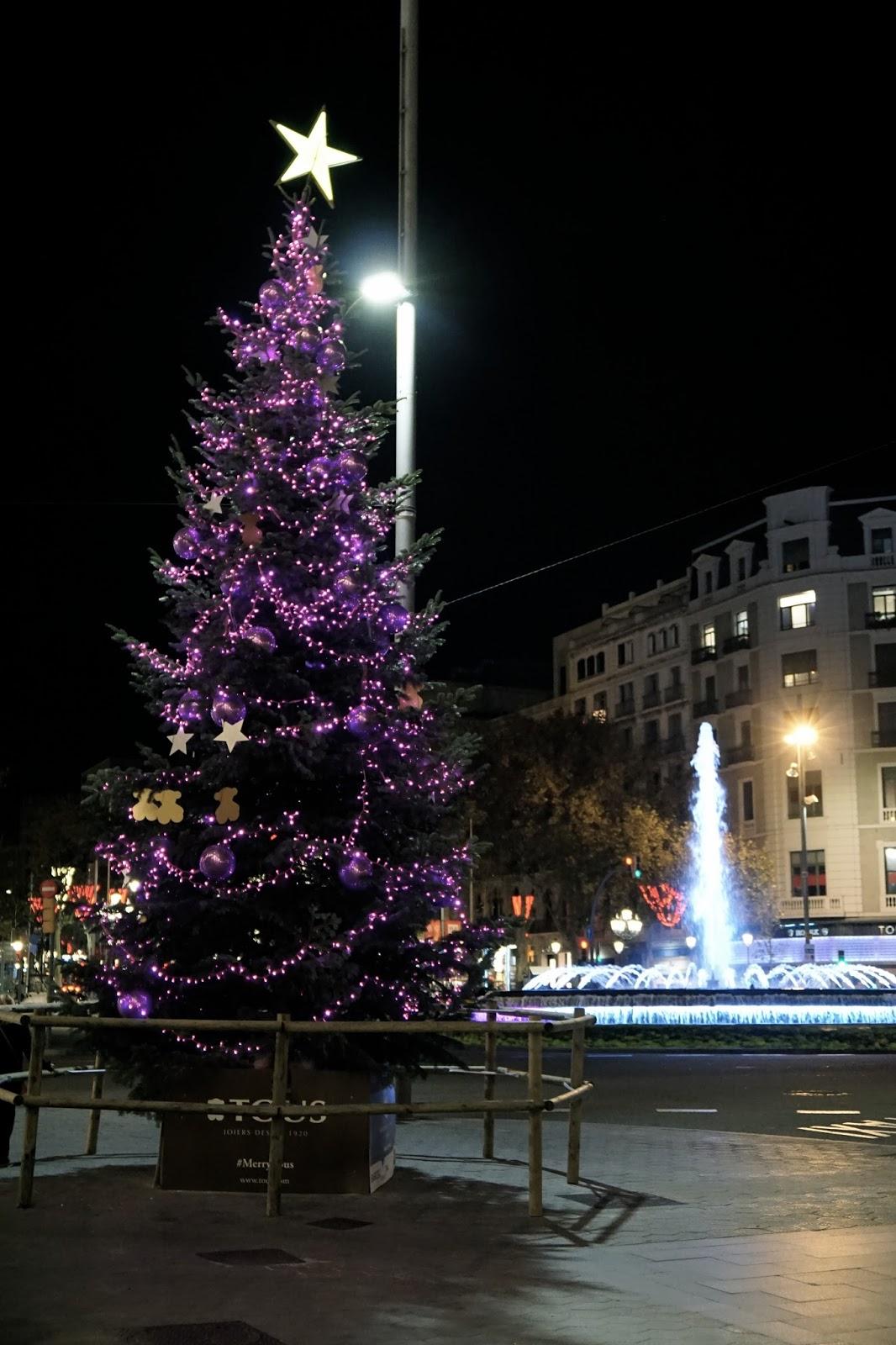 バルセロナのクリスマス
