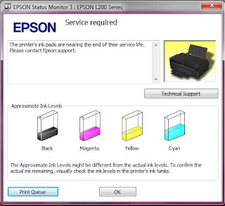 How to fix Service Required on Epson Printer
