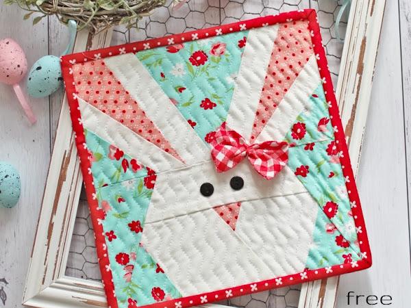 """{Free Pattern} - Bonita Bunny <img src=""""https://pic.sopili.net/pub/emoji/twitter/2/72x72/1f430.png"""" width=20 height=20>"""