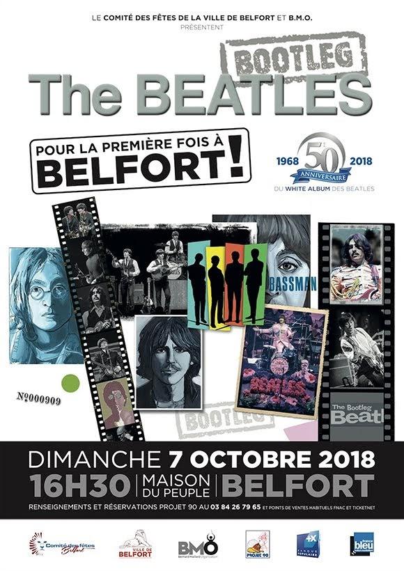 Les Bootleg Beatles en concert à Belfort