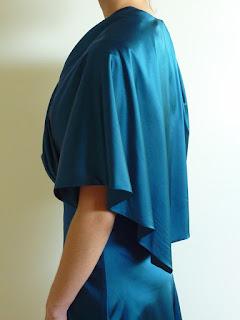 robe de cocktail couture sur mesure par styliste à Versailles