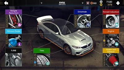 لعبة سباق السيارات وتشتغل على جميع اجهزة الاندرويد