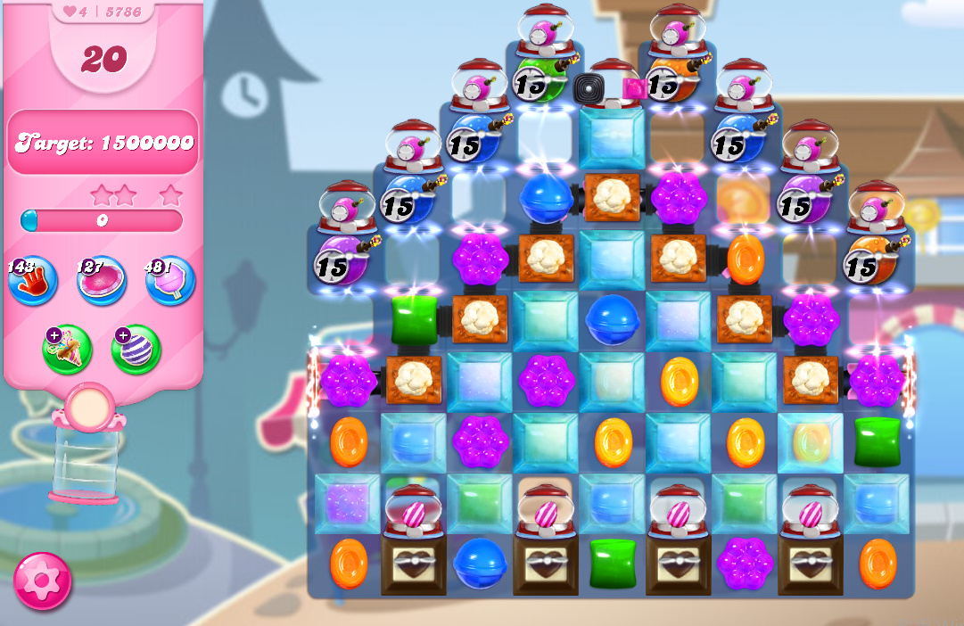 Candy Crush Saga level 5786