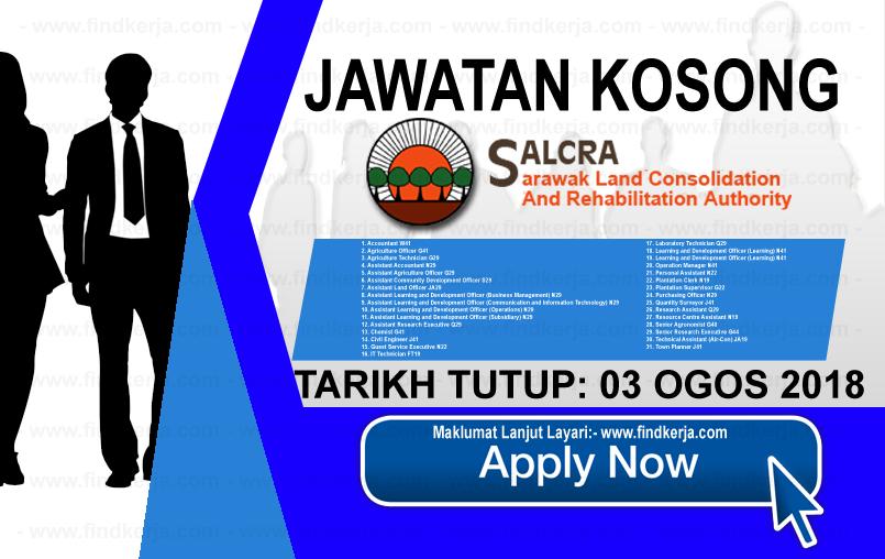 Jawatan Kerja Kosong SALCRA logo www.ohjob.info www.findkerja.com ogos 2018