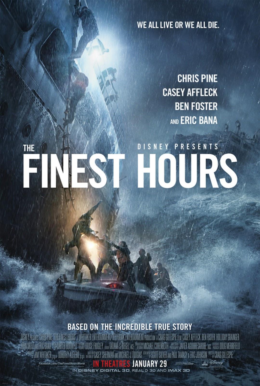 Resensi Film The Finest Hours Hidup Di Atas Gelombang