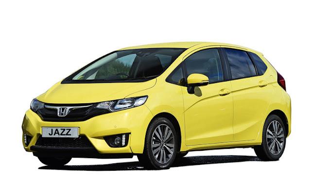 Gambar Honda Jazz Kuning