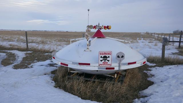 Cactus Lake, Saskatchewan, spaceship, aliens