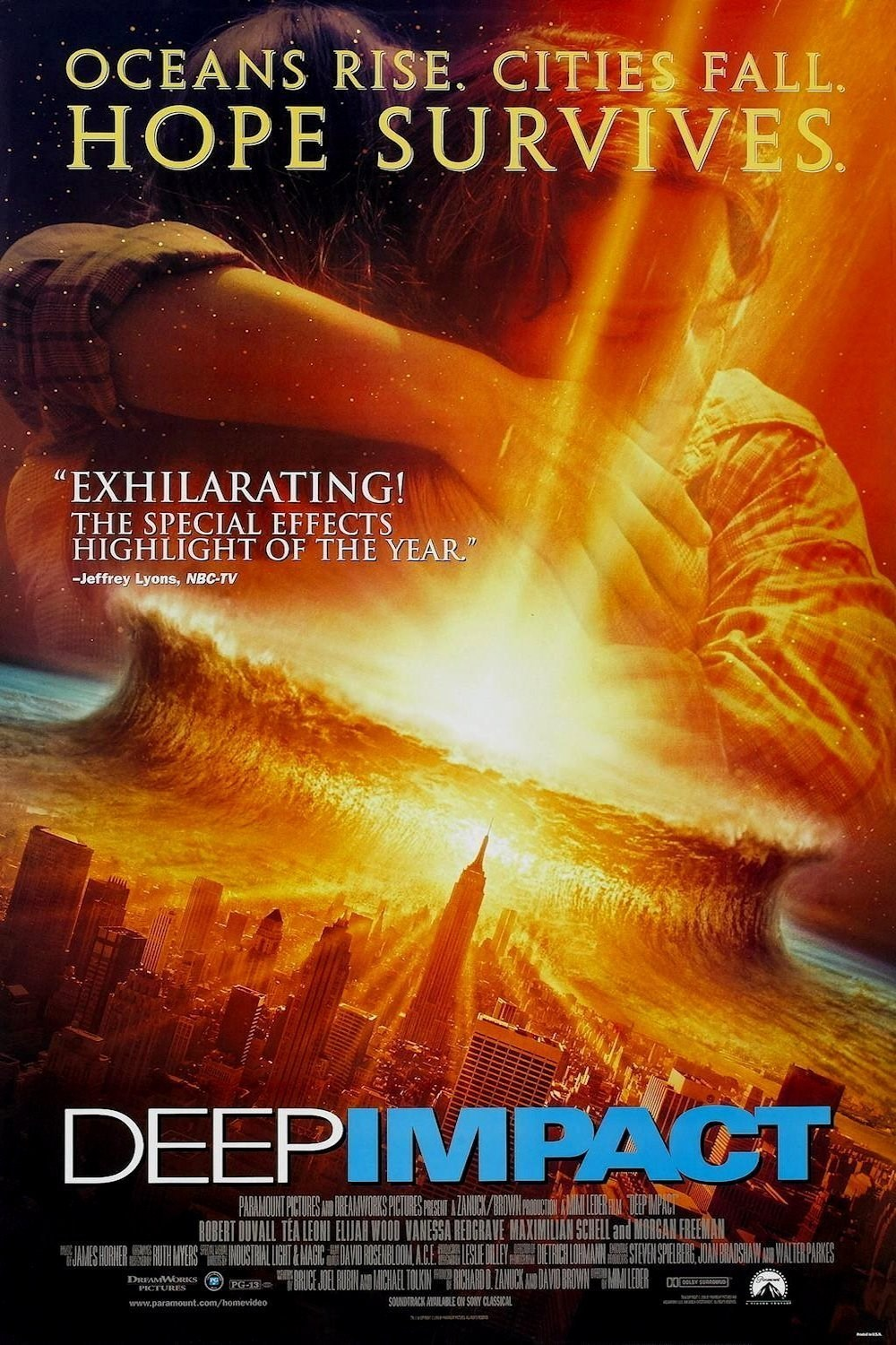Deep Impact (1998) ταινιες online seires oipeirates greek subs