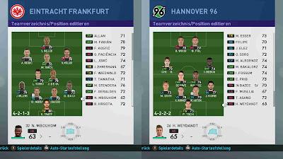 PES 2019 FULL Bundesliga Minifaces by 1002MB