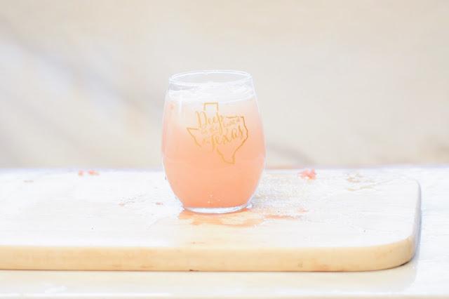 Agua Fresca Grapefruit