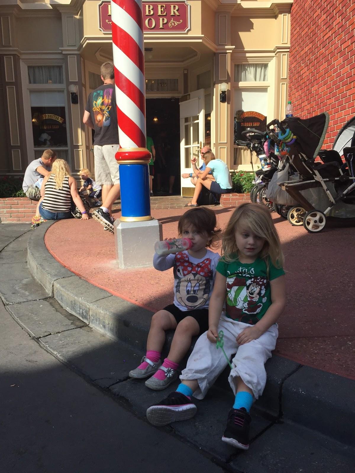 Harmony Barbershop Walt Disney World Storybook Erin