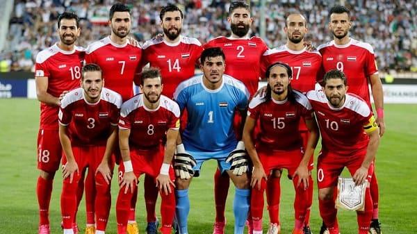 المنتخب السوري يتراجع مركزا واحدا في تصنيف الفيفا.؟