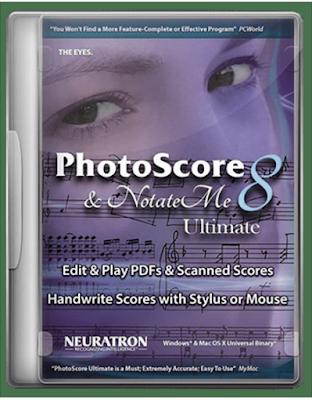 تحميل برنامج تعليم وقراءة النوتة الموسيقية Neuratron PhotoScore Ultimate 8.8.6 / v8.8.4 WiN MacOSX