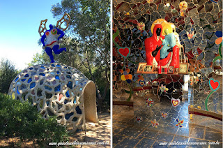 jardim dos taros guia brasileira blogger igreja - Jardim do Tarô de Niki de Saint-Phalle