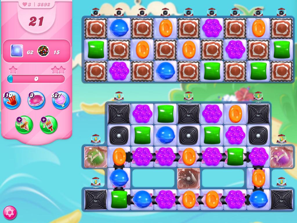 Candy Crush Saga level 3892