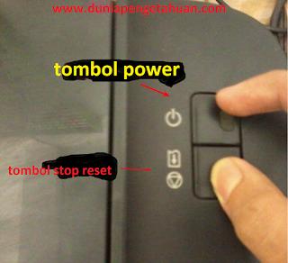 tombol printer
