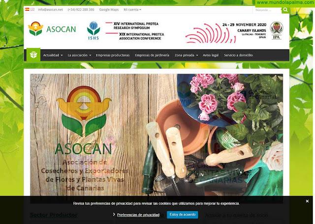 Gobierno canario y ASOCAN incentivan la compra de flores y plantas para la entrega a domicilio