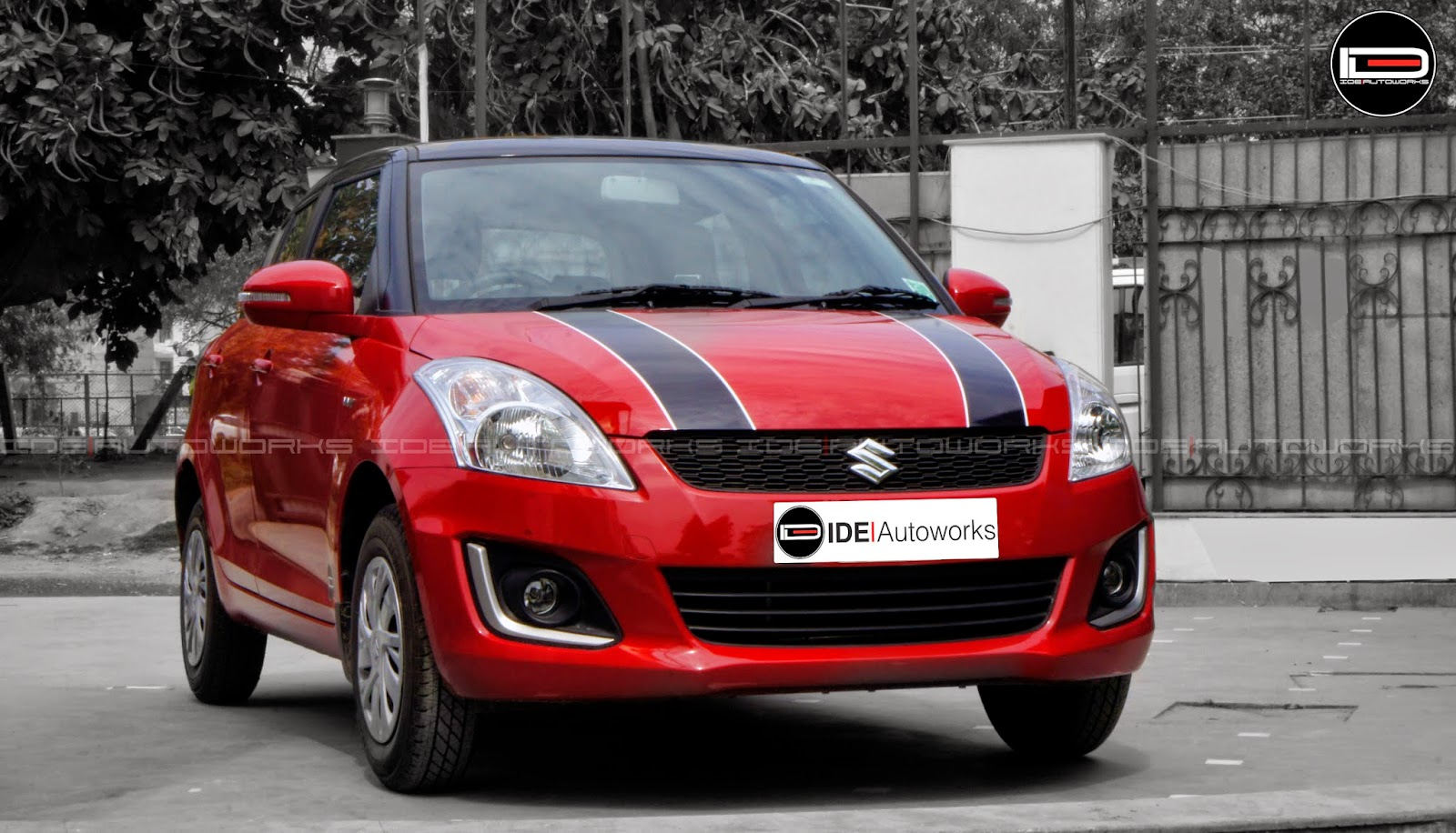 Swift Two Toned With Dual Racing Stripes By Ide Autoworks