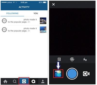 Cara menambah atau upload foto ke instagram dari iPhone, ini cara mudahnya