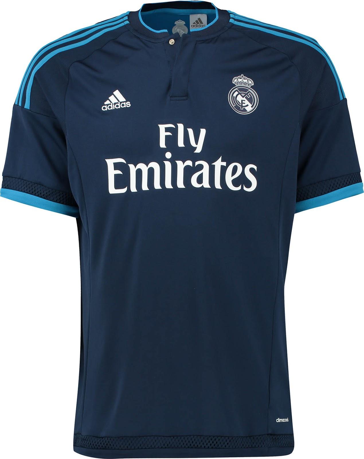 new styles 190bc ea585 REAL MADRID THIRD KIT - Junans Bannas
