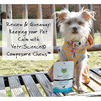 Review & Giveaway: Keeping your Pet Calm with VetriScience® Composure Chews™
