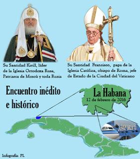 Cuba, punto de encuentro entre catolicismo y ortodoxia