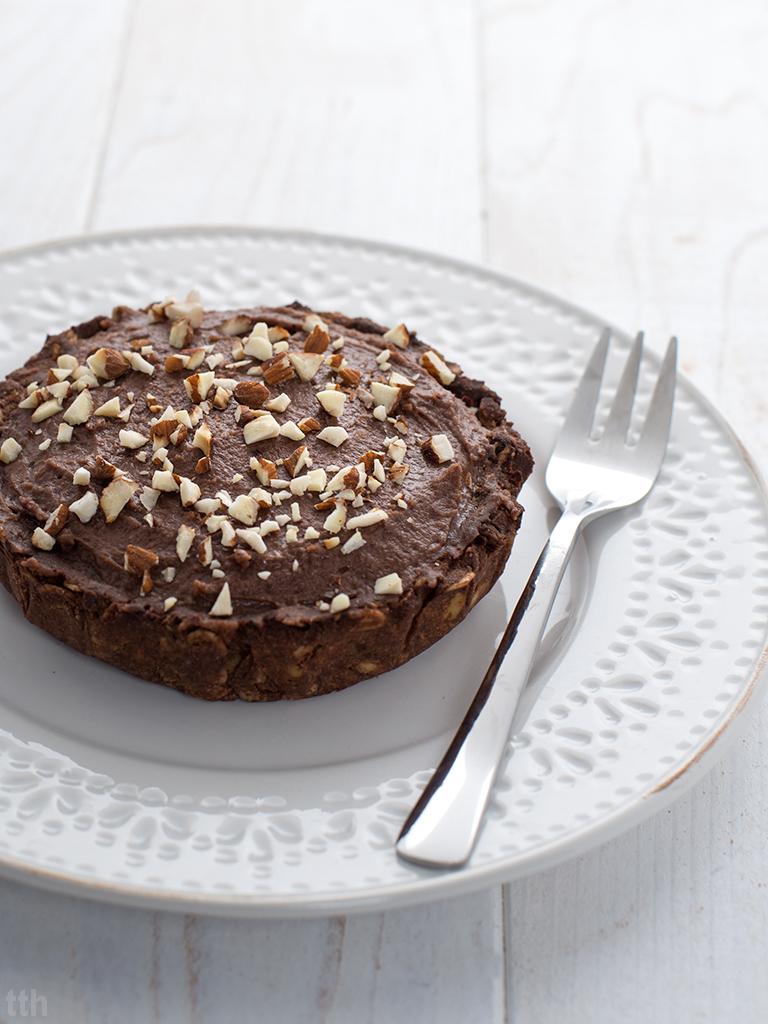 Tarteletki z czekoladowym musem czerwonej fasoli - przepis weganskie, bezglutenowe, bez cukru roslinny blog kulinarny