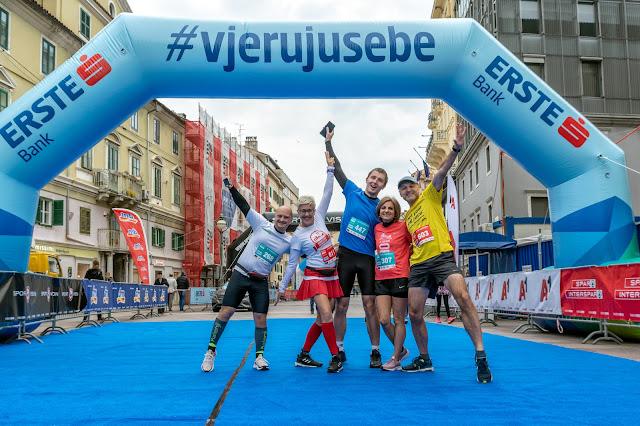 Rijeka Run 2019 @ Maraton, polumaraton, Homo si teć 14.04.2019