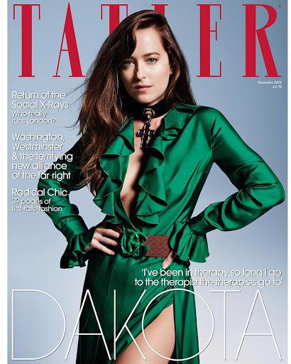 Dakota Johnson Tatler Magazine Photoshoot November 2018