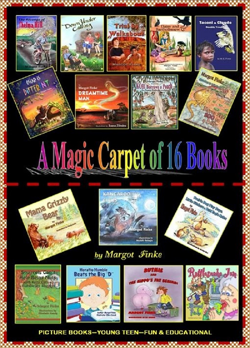 Try MARGOT'S MAGIC  -  Her BOOKS  HOOK Kids on  Reading.