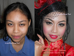 Make Up utk Ms Siti (Ms Tourism)