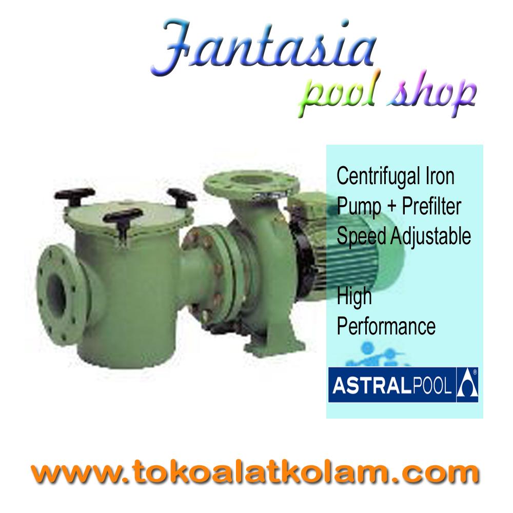Centrifugal Iron Pump 25 Hp Prefilter Astral Fantasia Pool Shop Grating Grill Kolam Renang