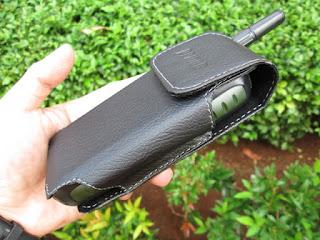 sarung pinggang / sarung kulit hape antik Prince PC9000